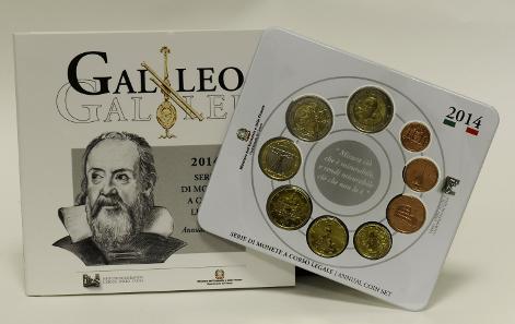 The Italian 2014 coin set.