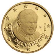 50-Cent-Münze aus dem Vatikan.