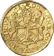 Zurich. Ducat 1649. HMZ 2-1138l. Ex Leu 74 (1998), 1989. Very fine to extremely fine. Auction sale Künker 256 (9 October, 2014), lot 6784.