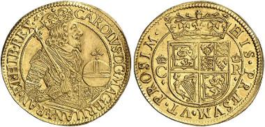 Scotland. Charles I. Unite n.y. (1637-1642), Edinburgh. Seaby 5531. From Künker  auction 245 (2014), 222.