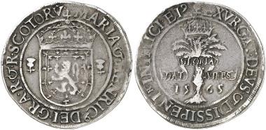 Scotland. Mary. Ryal, 1565, Edinburgh. Seaby 5425. From Künker auction 246 (2014), 2713.