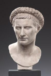 Büste des Augustus im