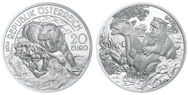 Österreich / 20 Euro / Silber .900 / 20 g / 34 mm / Design: Helmut Andexlinger/ Auflage: 50.000.