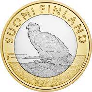 Finland / 5 EUR / 9.8 g / 27.25 mm / Design: Erkki Vainio (obverse), Nora Tapper (reverse) / Mintage: 35,000 (UNC), 10,000 (proof).
