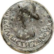 Nr. 1689: TIGRANES IV., 10/6-5 v. Chr. AE Chalkos, 2 n. Chr., Mzst. Artashat. Sehr selten. Sehr schön. Taxe: 500 Euro.