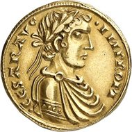 Lot 4723: ITALY. Sicily. Frederick II, 1197/1220-1250. Augustalis n. y. (after 1231), Messina. Very rare. Extremely fine. Estimate: 10,000 euros.