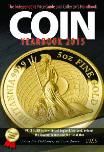 John Mussell, The Coin Yearbook 2015, Token Publishing Ltd, 2014. Paperback, 364 pages. ISBN: 978-1-908828-15-6. Price: GBP 9.95.