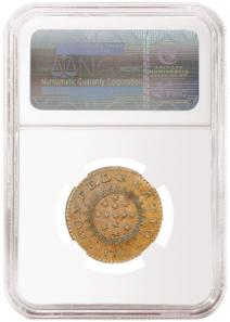 NGC MS 64 BN specimen of the 1786 Immunis Columbia Confederatio copper.