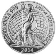 Silver Fortieth-Ounce Proof Coin. UK/ 5p/ Silver .999/ 0.8 g/ 8 mm/ Design: Ian Rank-Broadley (obverse), Jody Clark (reverse)/ Mintage: 2,750.