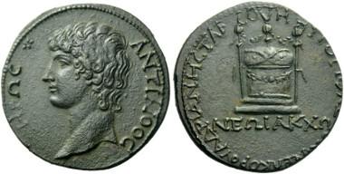 Bronze des Antinoos: Ex Tkalec Februar 2002, 160 und Leu 91, 2004, 549. Schätzpreis: 35.000 CHF.