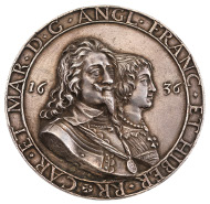 Lot 238: Charles I, the Anglo-Dutch Fishing Treaty, cast silver medal, 1636, by Hans Reinhardt. A superb example of this handsome medal, extremely fine and very rare. Estimate: £4,000 - 6,000.