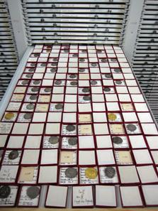Blick auf ein Tablett. Foto: KW.