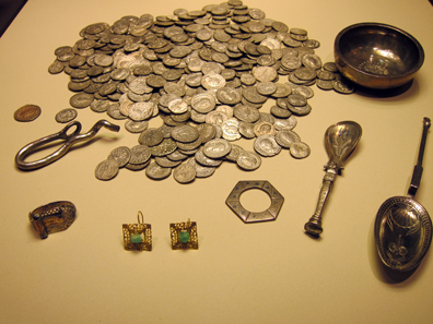 Temple hoard from Xanten. Photo: KW.