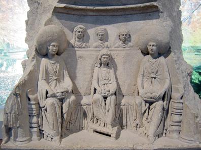Matronenaltar, errichtet 164 n. Chr. Foto: KW.