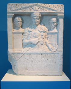 Marcus Caelius, gefallen in der Varusschlacht. Foto: KW.