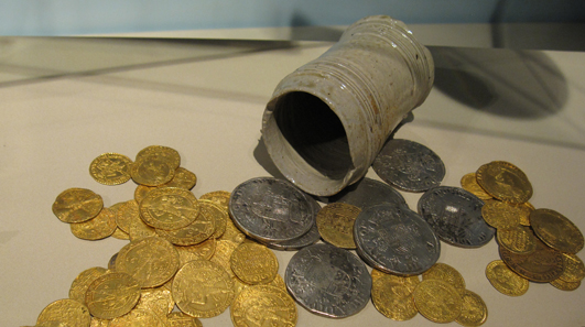 Kestenich hoard from the 17th century. Photo: KW.