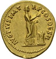 Antoninus Pius. Aureus, 138. C. 70; RIC 13. 7,21 g. Ex Slg.