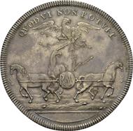 Braunschweig-Lüneburg-Wolfenbüttel, Herzogtum. Rudolph August und Anton Ulrich. Reichstaler, 1702, Goslar, Zwietrachtstaler. Dav. 2931; Welter 2073 A. vz.