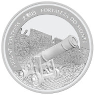Macau / 100 MOP / 5 oz .999 Silver / 65 mm / Mintage: 2,000.