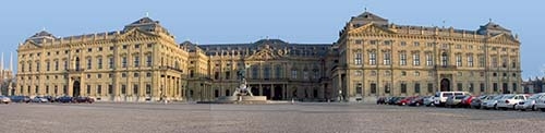 Die Würzburger Residenz. Foto: Christian Horvath / Wikipedia.