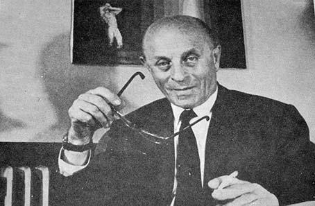 László Jószef Biro, ca. 1978. Quelle: Wikipedia.