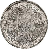 3673. Schwarzburg-Sondershausen. Anton Günther II. Taler 1711, Arnstadt. Bethe 947. vorzüglich-prägefrisch. Taxe: 2.800 Euro.