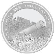 Macau / 20 MOP / 1 oz .999 Silver / 40.7 mm / Mintage: 8,000.