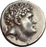Lot 12: Tetradrachm Mysia, Pergamon. Attalos I (241-197 BC). Ca. 241-235 BC. SCG von Aulock 1359. 17.0 g. Good EF. Rare. 1,950 euros.