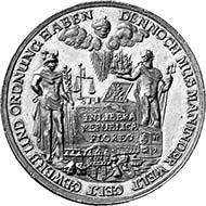 Hamburg. Bankportugaleser zu 10 Dukaten 1679. Gaedechens II, 1615. Aus Auktion Leu Numismatik AG, Zürich 92 (2004), 282.