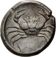 Los 73: Sizilien, Akragas, Tetradrachme, ca. 471-430 v.Chr. Schätzpreis: 1.900,- EUR.