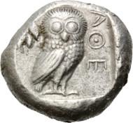 Los 195: Attika, Athen, Tetradrachme, ca. 500-482 v.Chr. Schätzpreis: 18.500,- EUR.