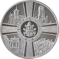 Lithuania/ Silver 925/ 500 g/ 100 mm/ Designer: Giedrius Paulauskis / Mintage: 50.