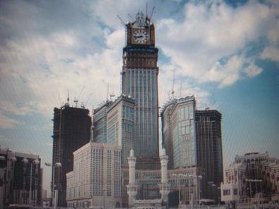 Heute steht anstelle der Festung der Abraj al-Bait-Turm mit Big-Ben-Nachbau. Foto: King Eliot / http://creativecommons.org/licenses/by-sa/3.0