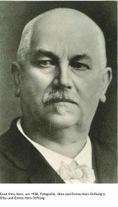 Ernst Otto Horn, um 1938, Fotografie, Otto-und-Emma-Horn-Stiftung.