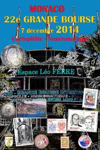 Official Grande Bourse 2014 poster.