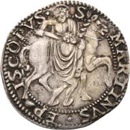 Switzerland / Uri, Schwyz and Unterwalden. Cavalotto n. y. (16th cent.). HMZ 2-943. Very fine to extremely fine. Starting price: 500 CHF.