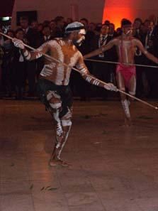 Dance invoking a successful hunt. Photo: Ursula Kampmann