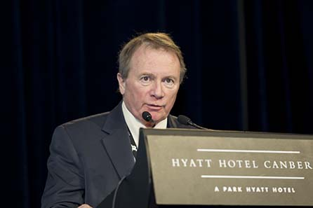 Ian Bennet, CEO of the Royal Canadian Mint. Image courtesy of MDC 2010
