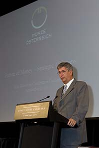 Gerhard Starsich, CEO Austrian Mint. Image courtesy of MDC 2010