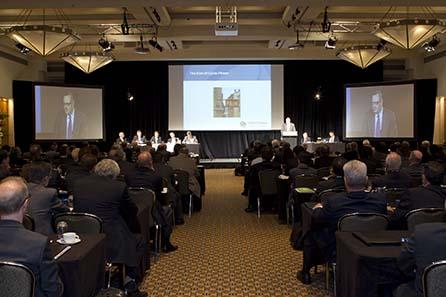 Doug Melville, Ombundsmann des kanadischen Bankwesens. Image courtesy of MDC 2010