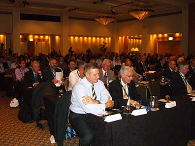 The delegates were attentively listening to the presentations. Photo: Ursula Kampmann