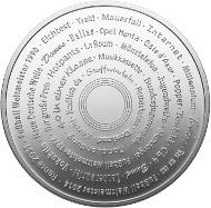 1 Unze Feinsilber 999 Medaille von Degussa.