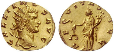Lot 553: GALLIENUS, 253-268.