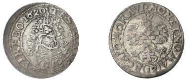 Margraviate of Moravia. Moravian estates. Kipper-12 kreuzer, 1620, Olmütz. HALACKA 597. From auction sale Busso Peus Nachf. 394 (2007), 3871.