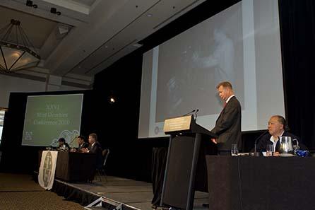 Matti Rastas, Vizepräsident der Mint of Finland. Image courtesy of MDC 2010