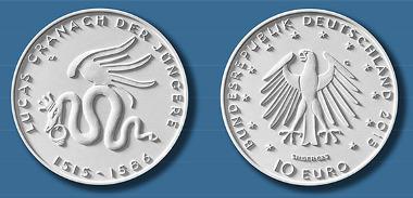 10 Euro-Gedenkmünze