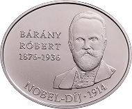 Hungary/ 2,000 HUF/ Cupro-nickel/ 10.3 g/ 30x25 mm/ Designer: Fanni Vékony/ Mintage: 5,000.