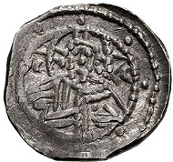 Constantine XI. Palaeologus. 1448-1453 AD. Stavrata, 6.80g. (h). Constantinople, Siege of Constantinople. Bendall, Revue Numismatique 1991, 'The Coinage of Constantine XI', pp. 135-142, pl. XV, 93 (this coin). EF for issue. Estimate: US$15000.
