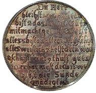 GERMAN STATES. Saxe-New-Gotha 1671 AKH Thaler. Ernest I, called