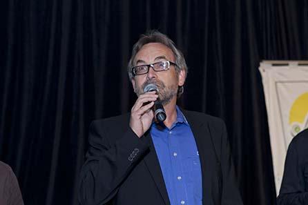 Dieter Merkle, Schuler Pressen. Image courtesy of MDC 2010